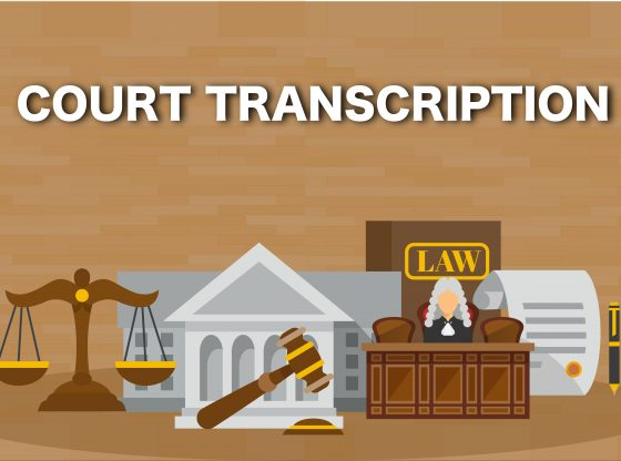 court transcription services
