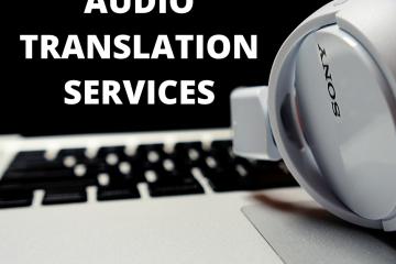 audio translation services